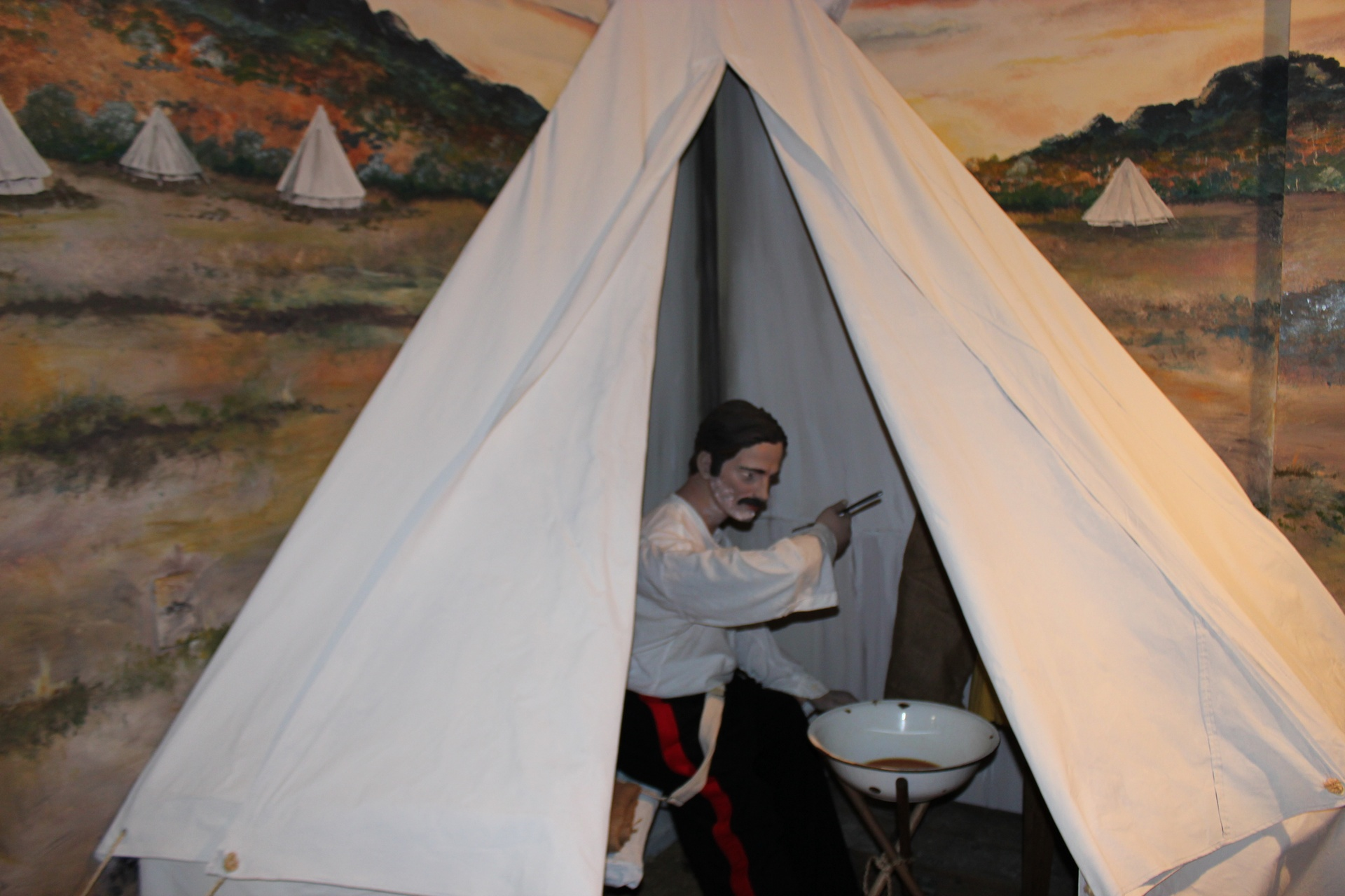 Officer's Tent