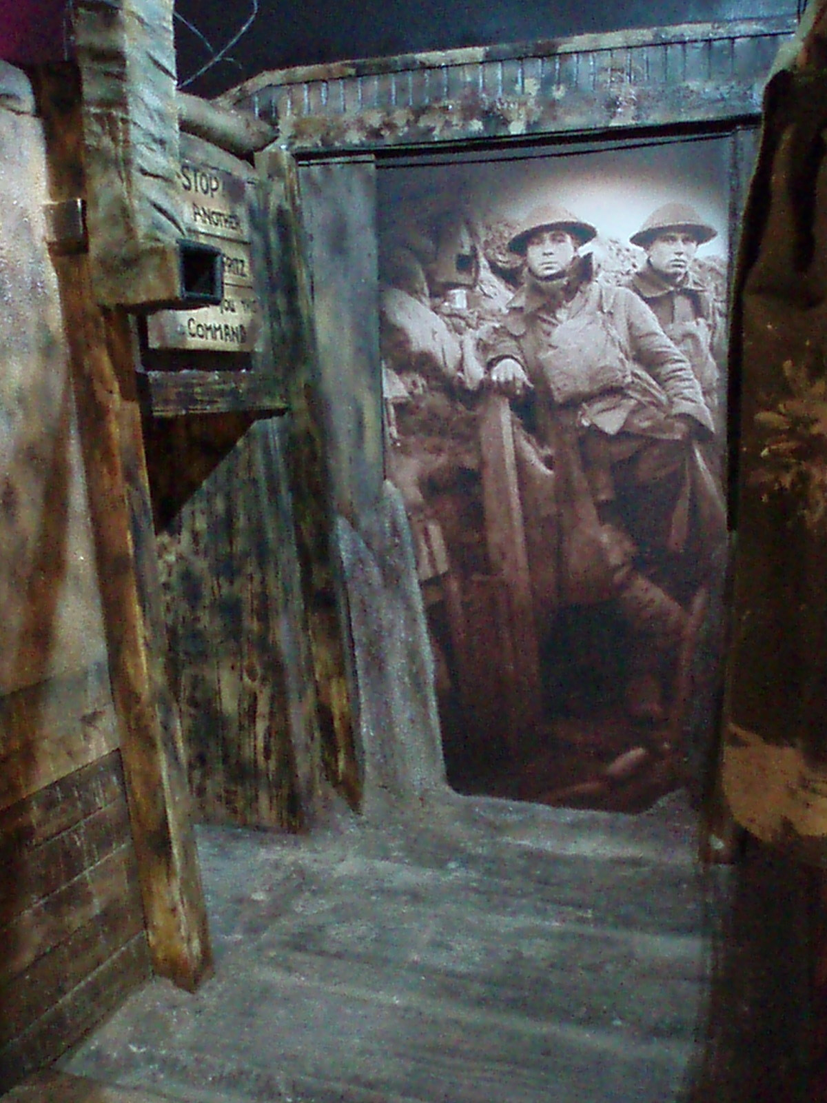World War One Trench Room