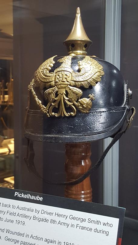 Pickelhaube - German Helmet